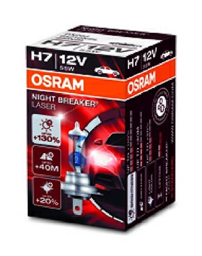 Halogenglödl H7 Night Breaker