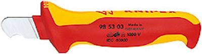 Avmantlingskniv för rundkabel