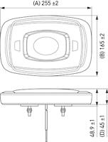 Varningsramp Micro Lightbar B
