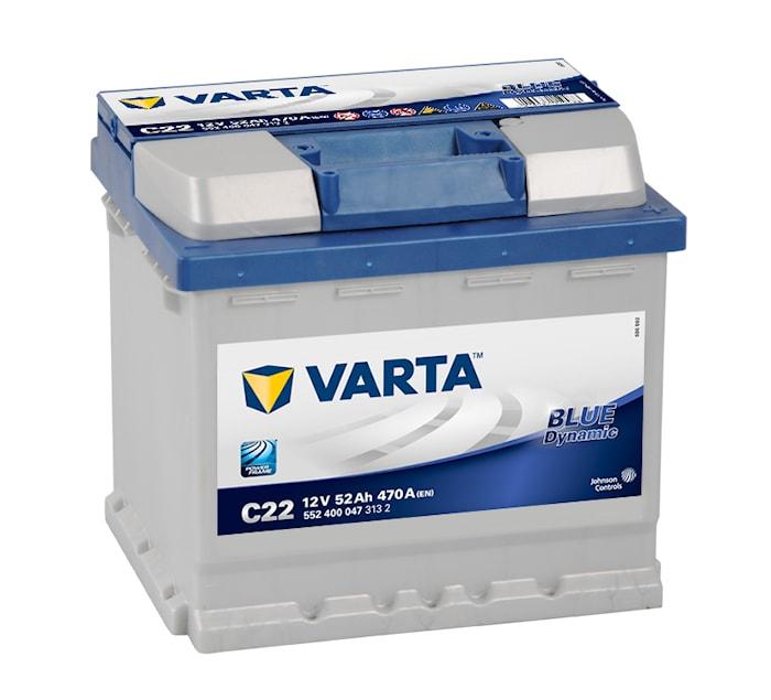 Batteri C22 Blue Dynamic