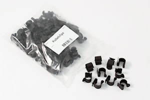 Kabelclips 100-pack