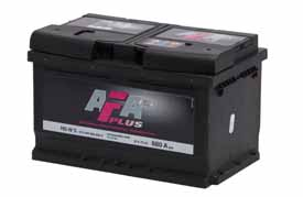 Batteri HS3 AFA Plus