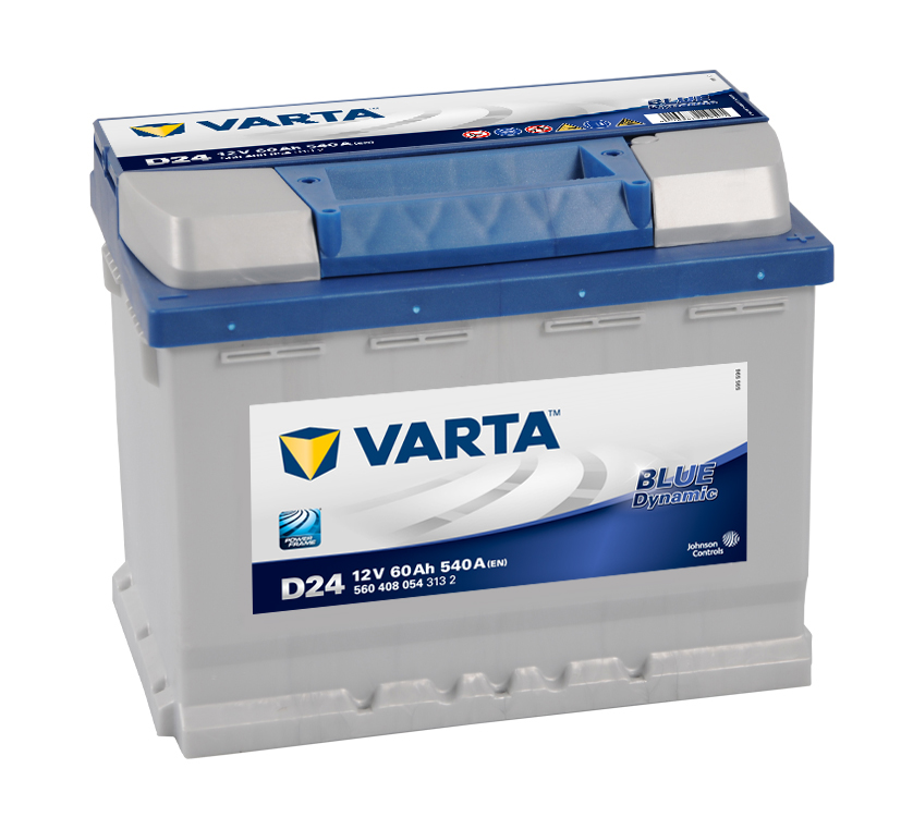 Batteri D24 Blue Dynamic