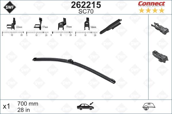 Flatblade SC70 700