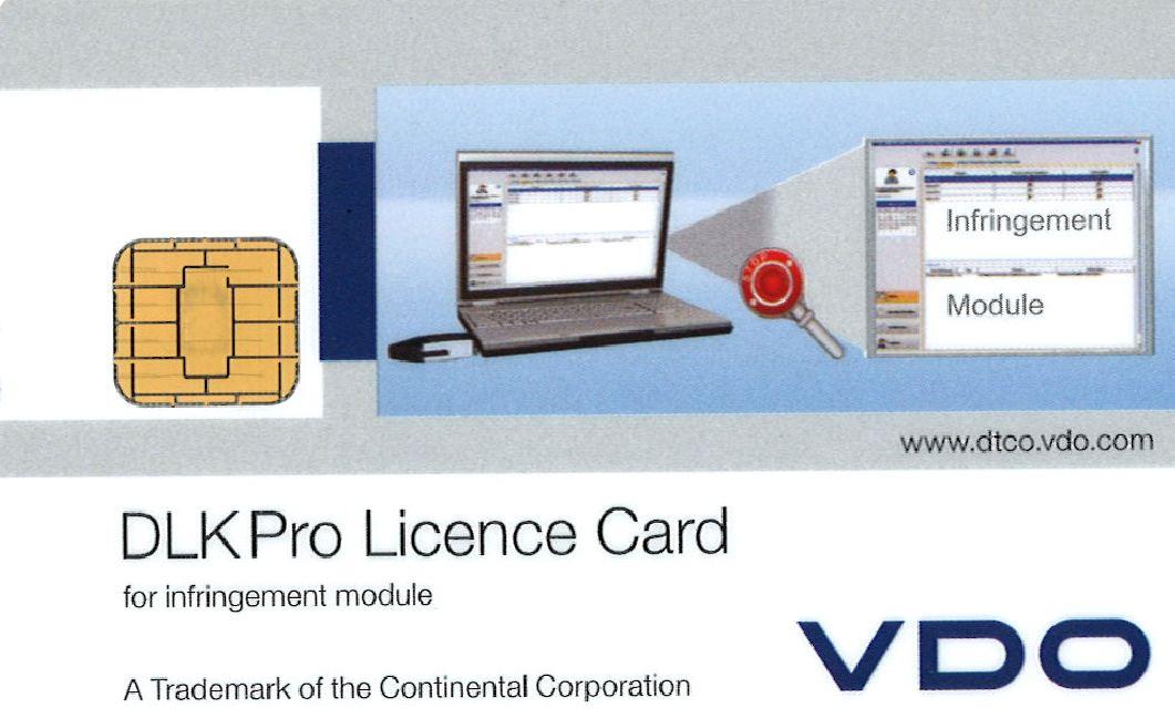 DLKPro Licenskort överträdelse
