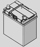 Batteri A14 Blue Dynamic