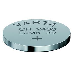 Batteri CR2430 3V litium