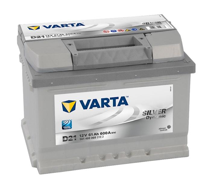 Batteri D21 Silver Dynamic