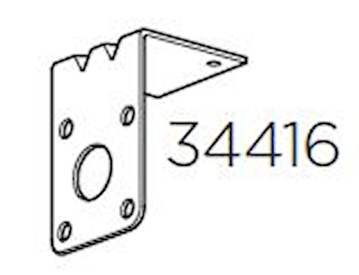 Hållarplåt Multilift 572