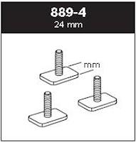 Adaptersats T-spår 30x24 mm