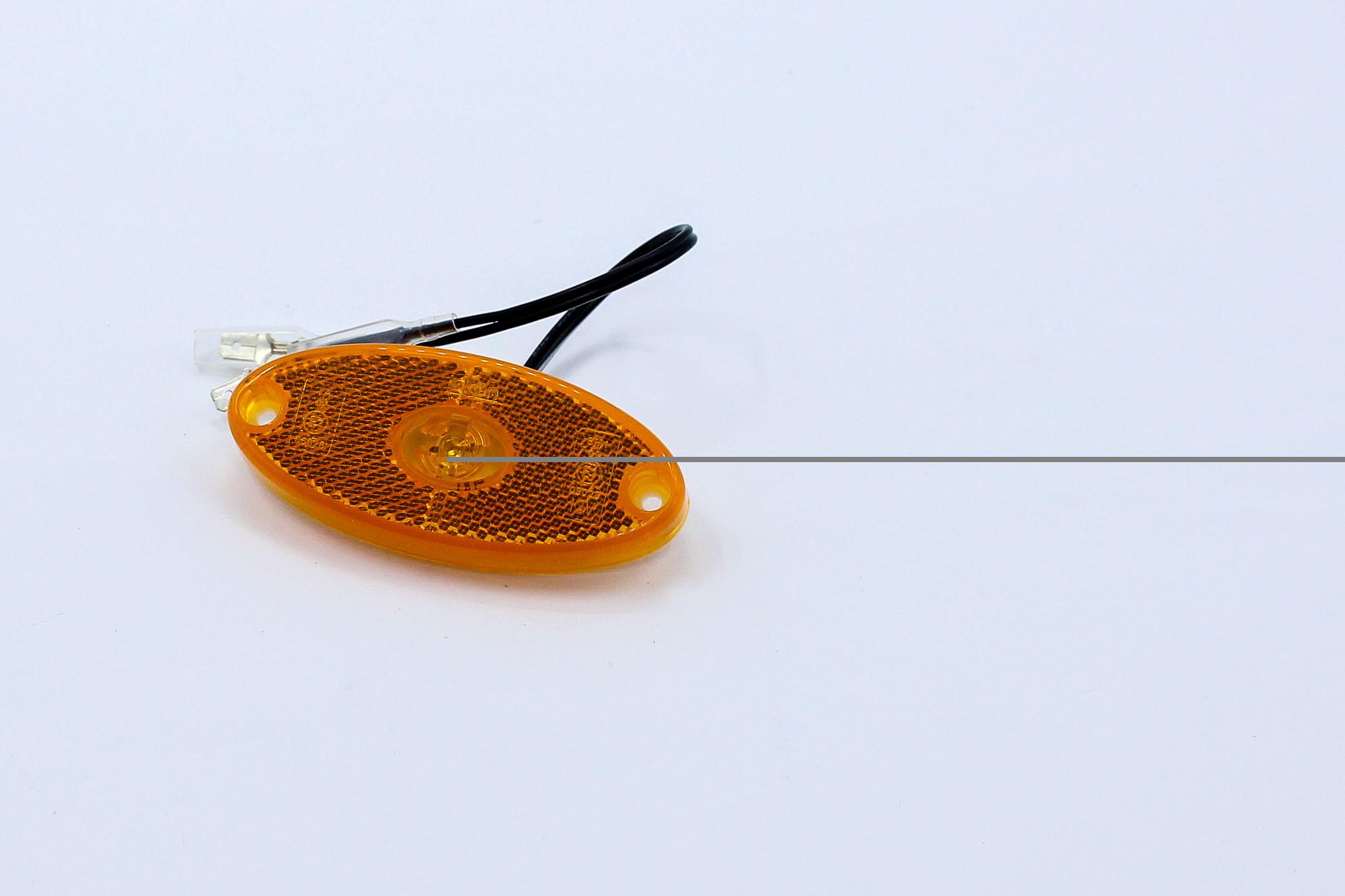 Sidomarkeringslykta orange