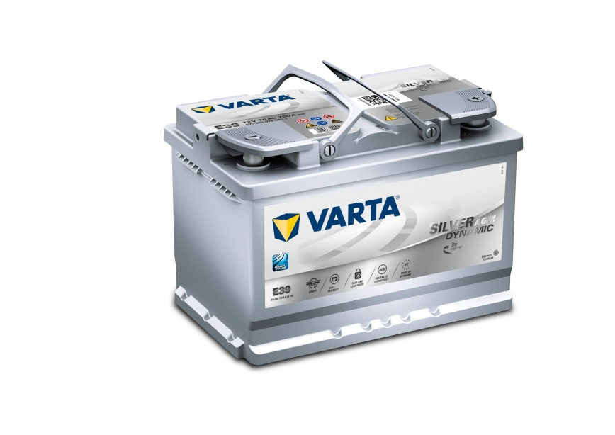 Batteri E39 Silver Dynamic AGM