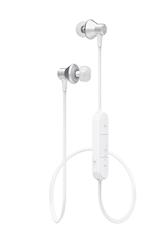 Bluetooth in-ear hörlur vit