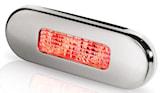 Flush-LED 12/24V röd 84x29mm