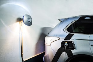 Charge Amps HALO laddbox 3,7 kW Typ 2 med installation
