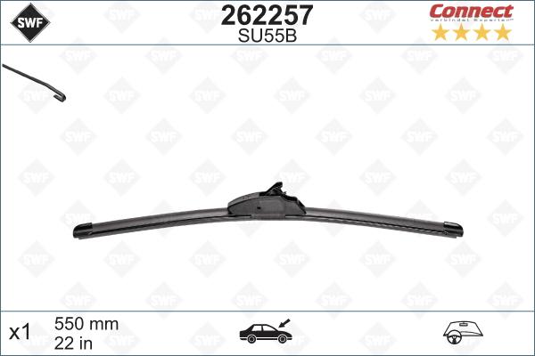 Flatblade SU55B 550