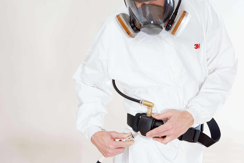 Tryckluftssystem andningsskydd