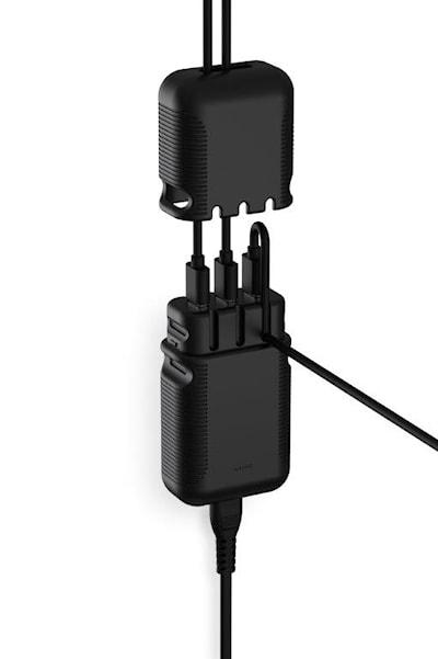 USB laddare 7,2A 3xUSB 220V S