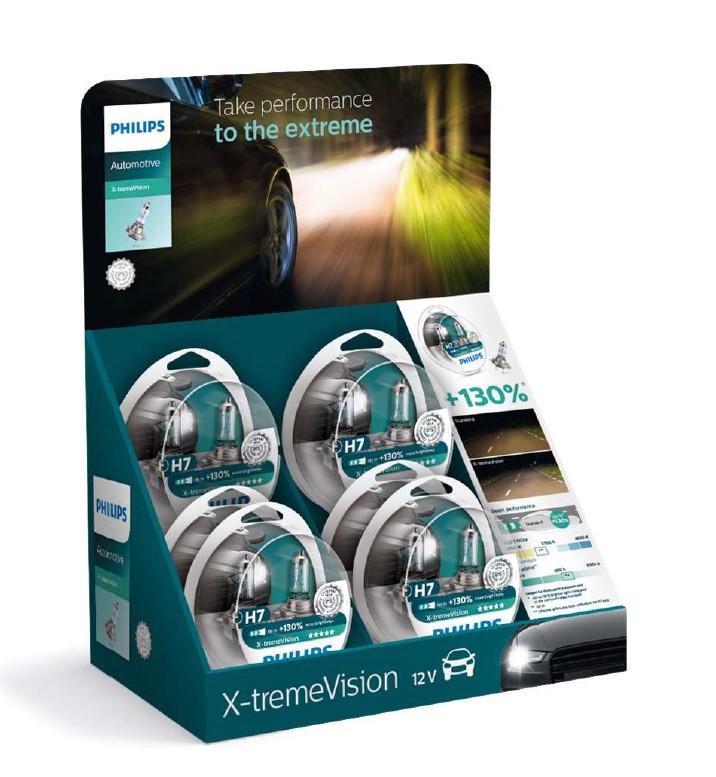Halogenglöd H7 XtremeVision+ 6