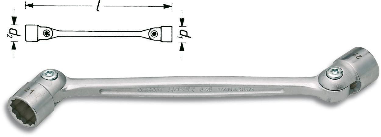 Lednyckel 12x13mm
