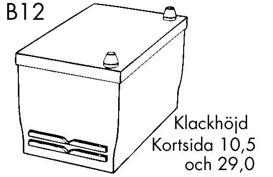 Batteri Excell 70Ah 540cca
