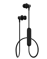 Bluetooth in-ear hörlur svart