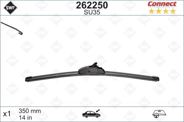 Flatblade SU35 350