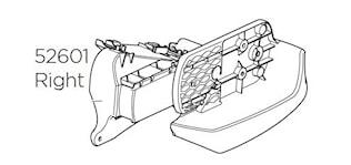 Lamphållare höger VC 925/927