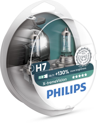 Halogenglöd H7 XtremeVision+