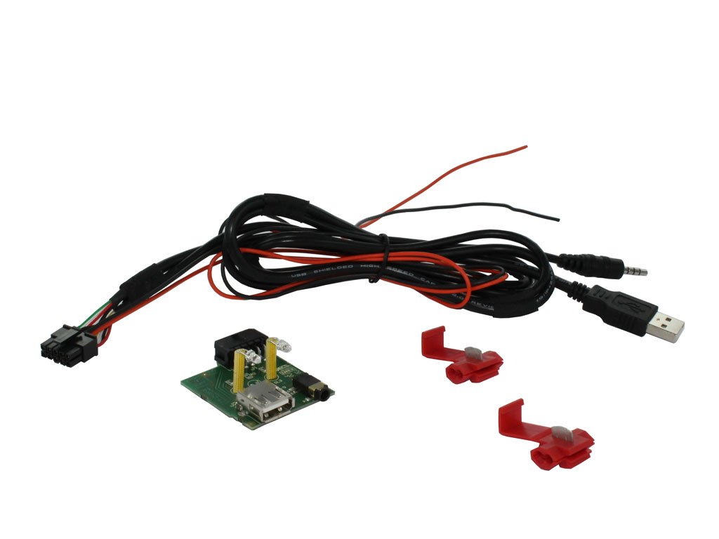 USB/AUX in utbytes SsangYong