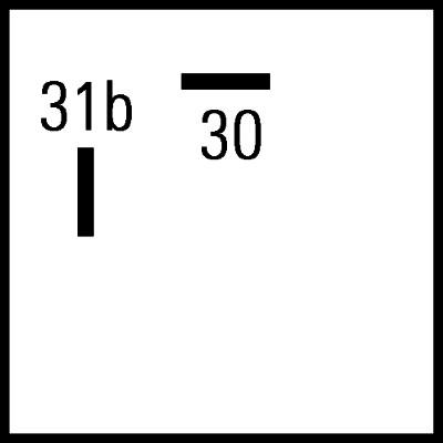 Varningssummer 12V 325Hz