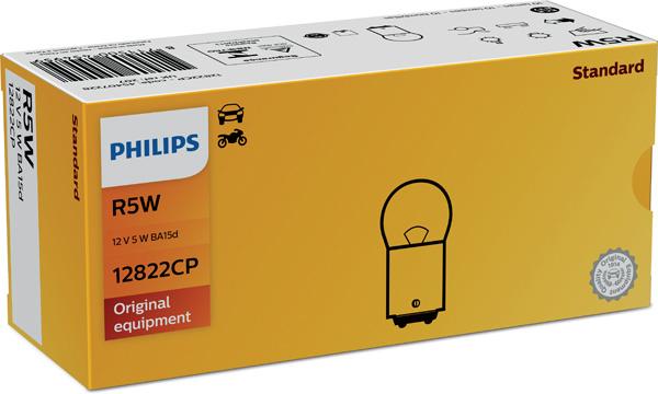Glödlampa 12V 5W BA15d