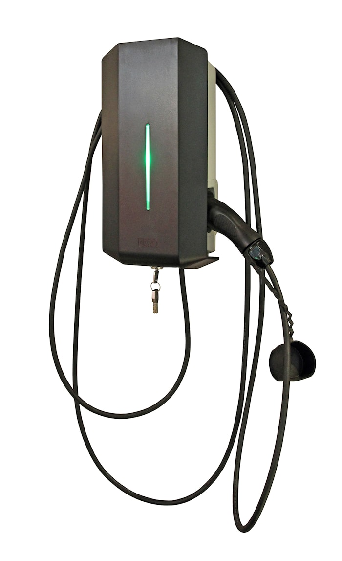 GARO laddbox fast kabel Typ 2