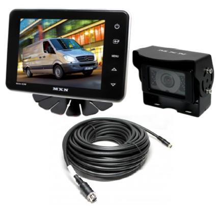 """Backkamerasystem med 5"""" skärm"""