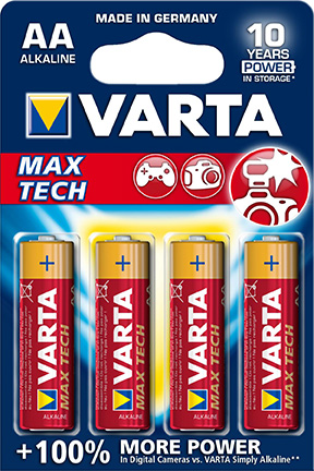 Batteri AA/LR6 Max Tech