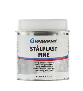 Spackel Stålplast Fine 0,55L