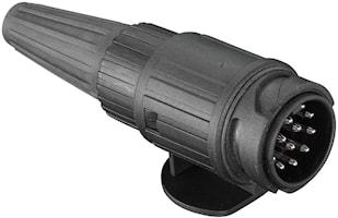 Stickkontakt 13-pol 2x5,5mm