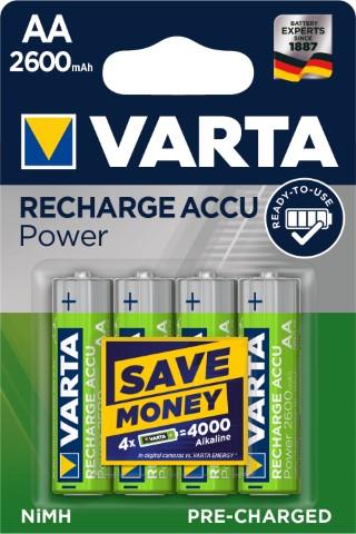 Batteri laddbart AA 2600 mAh