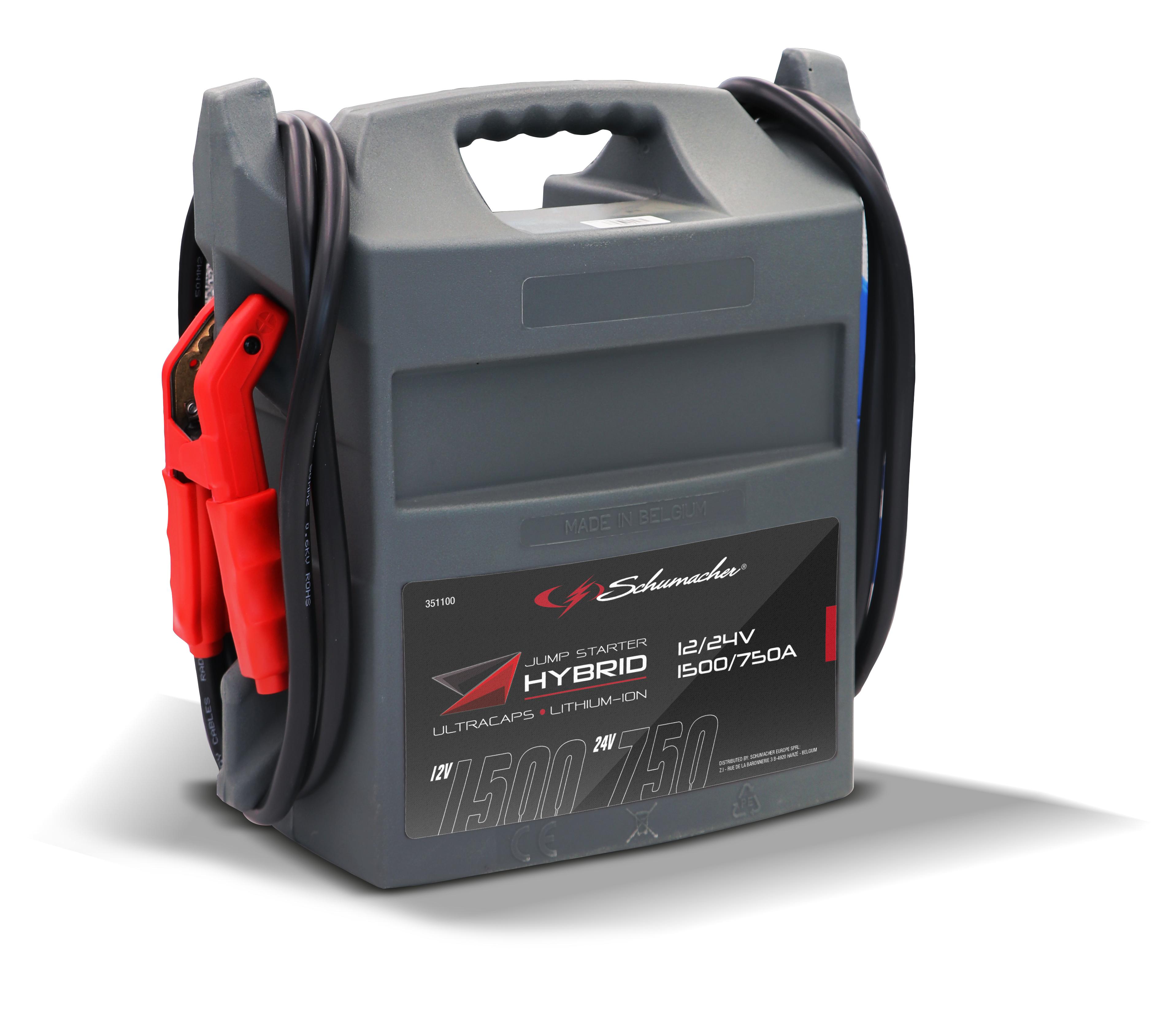 Startbooster hybrid 12V/24V