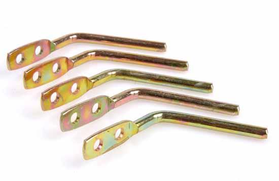 Hållare rak 45 mm 5-pack