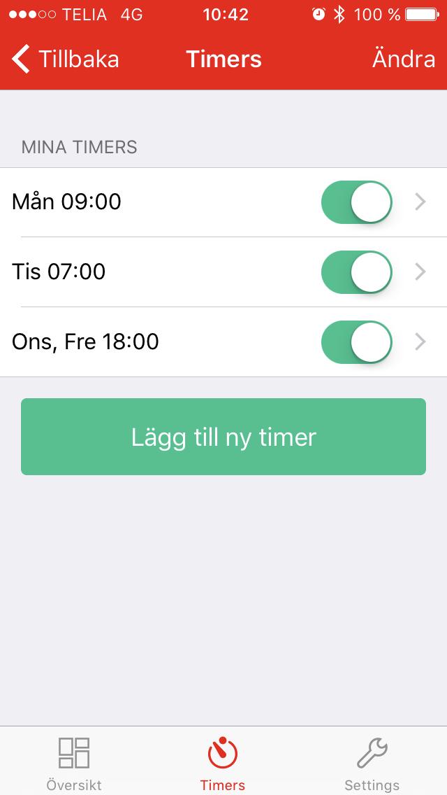 Bluetooth timer CBT4