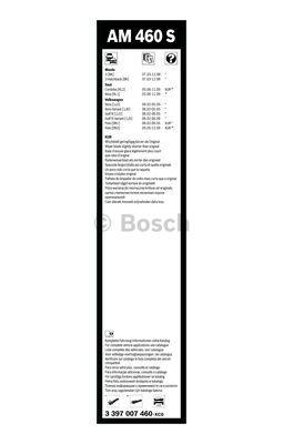 Flatbladesats AM460S