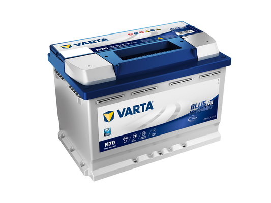 Batteri N70 Blue Dynamic EFB