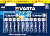 Batteri AA/LR6 High Energy