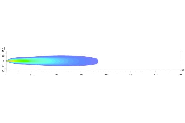 Extraljusramp DLB-540 LED