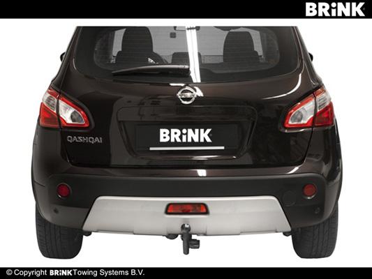 Avtagbar dragkrok Nissan Qashq