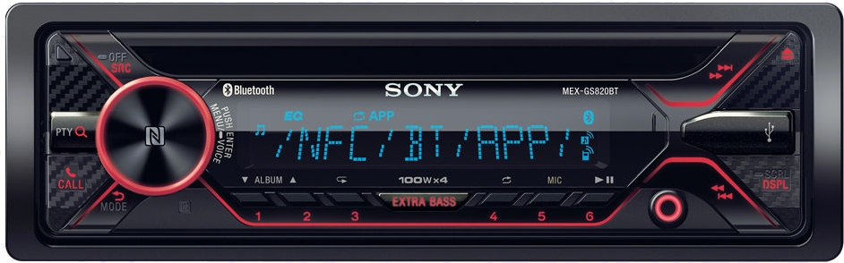 Bilstereo CD/Radio/BT/USB