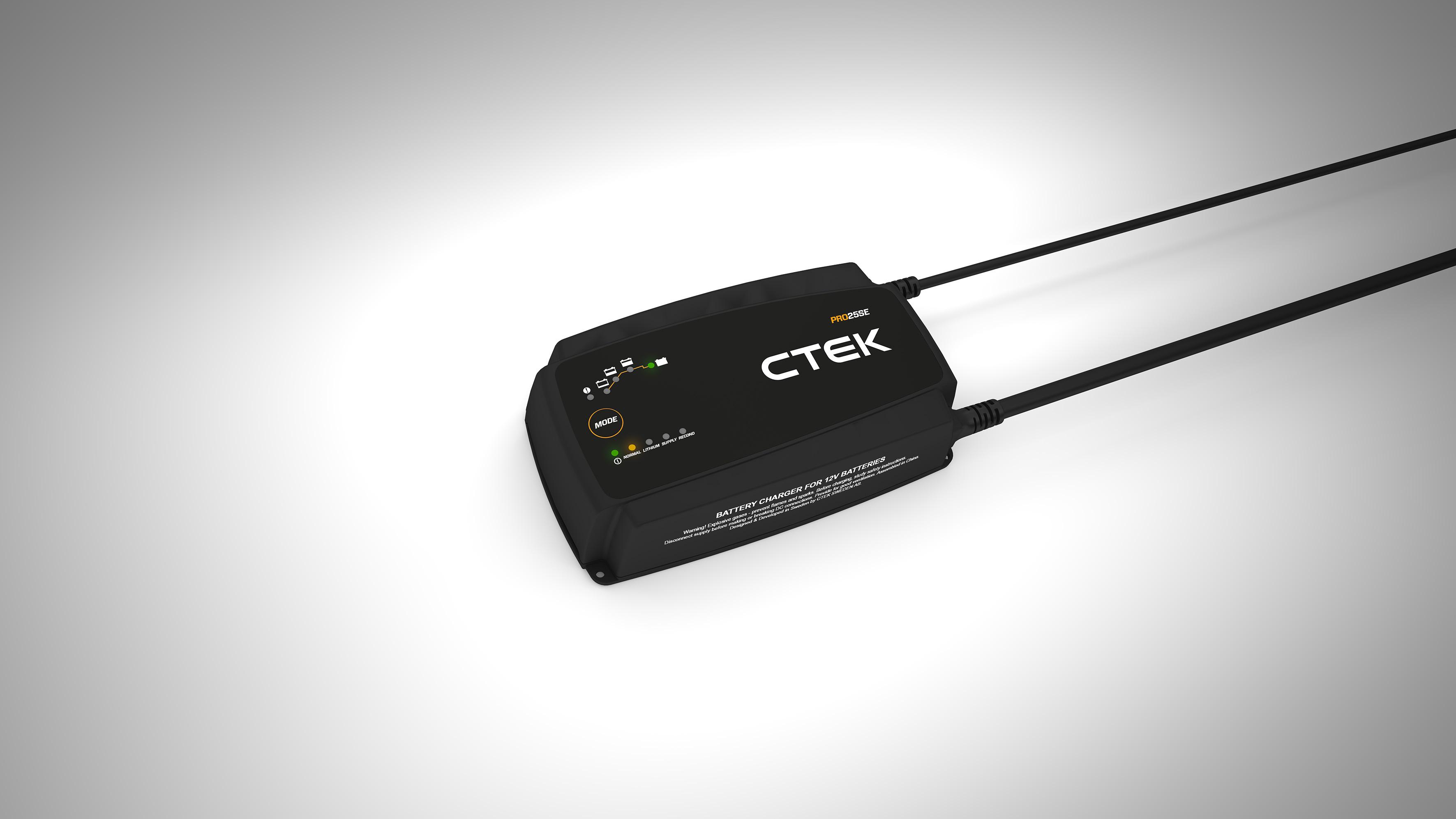 Batteriladdare PRO 25 SE