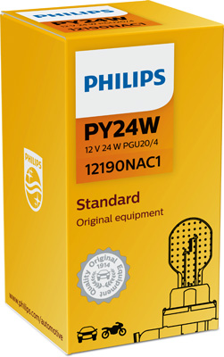 Glödlampa PY24W 12V