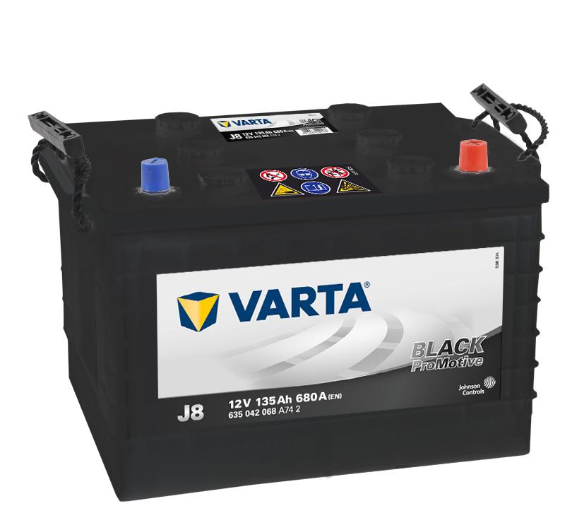 Batteri J8 PRO black VP135